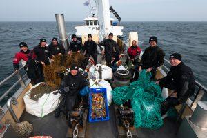 Team Expeditie Zuidelijke Noordzee 2021